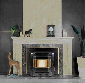 Estufas de pellets calentadores de biomasa y chimeneas - Chimenea de pellets ...